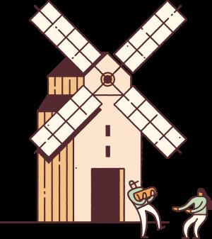 Les 8 moulins de Terrena Meunerie